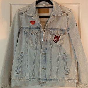 Custom Jean Jacket w/ Patches